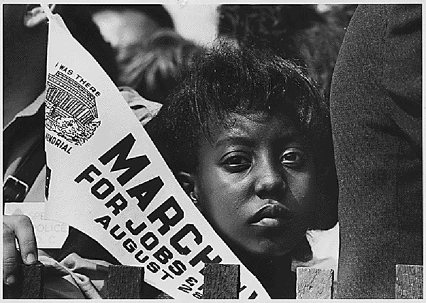 Edith Lee-Payne at the March on Washington.gif
