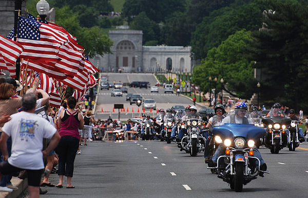 Rolling Thunder, Memorial Bridge