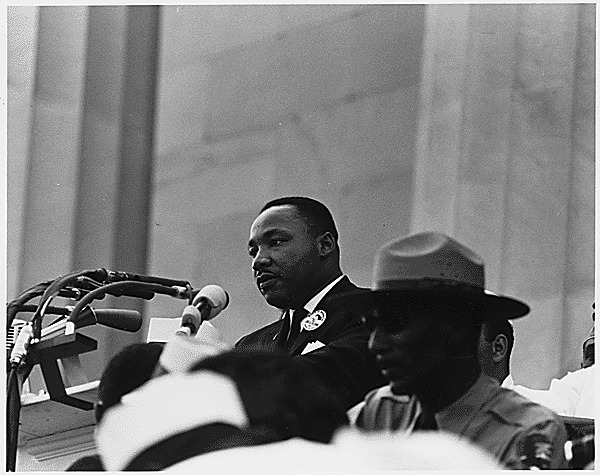 Civil Rights March on Washington, D.C. [Dr. Martin Luther King, Jr. speaking.], 08/28/1963
