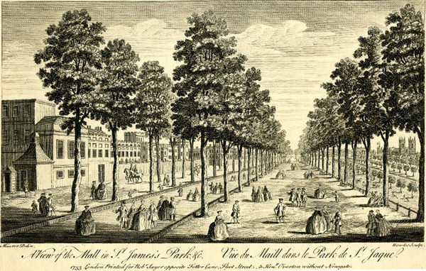 A View of the Mall in St James's Park &c