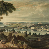 1833 View of Washington from Beyond the Navy Annex LOC.jpg