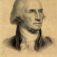 Washington. From the original portrait painted by Rembrandt Peale / Drawn on stone by Rembrandt Peale
