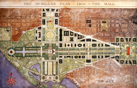 Senate Park Commission releases the McMillan Plan for the National Mall
