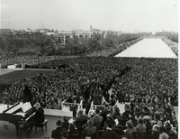 Marian Anderson concert at the Lincoln Memorial
