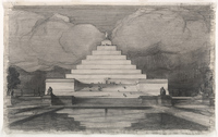 John Russell Pope's design for the Lincoln Memorial, #1