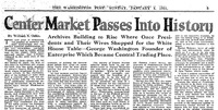 Center Market Passes Into History