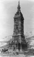 Hapgood's design for the Washington Monument