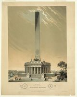 Original Design of the Washington Monument