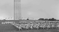 WAVES Units march on Washington Monument grounds