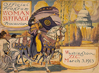 Official Program of the Woman Suffrage Parade of 1913