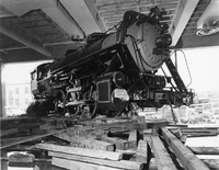 Steam Locomotive Installation at the National Museum of American History