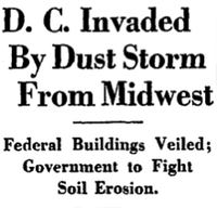 DC Invaded By A Dust Storm From Midwest