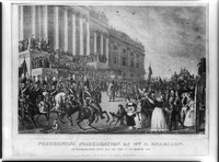 Inauguration of President William Henry Harrison